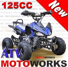 Motoworks 125cc SPORTS QUAD ATV Bike 4 Wheeler mini Buggy Campbellfield Hume Area Preview