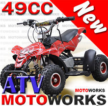 NEW MOTOWORKS 49CC ATV QUAD 4 Wheeler DIRT Bike Campbellfield Hume Area Preview
