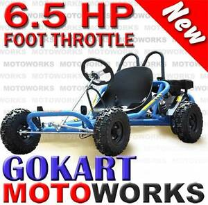 NEW MOTOWORKS 6.5HP GOKART ATV QUAD 4 Wheeler Bike Campbellfield Hume Area Preview