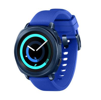 New 2017 SAMSUNG GALAXY GEAR Sport SM-R600 Bluetooth Fitness Smart Watch Blue segunda mano  Embacar hacia Argentina