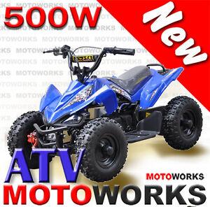 Motoworks 500W SPORTS ELECTRIC QUAD ATV Bike  Gokart 4 Wheeler Campbellfield Hume Area Preview
