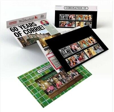 Coronation Street Special Stamps 60th anniversary celebration souvenirs - 498
