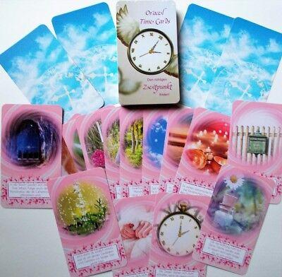 """ZEITKARTEN """"Oracel Time Cards"""" in Tarotkartengröße - ansprechend und wunderschön"""