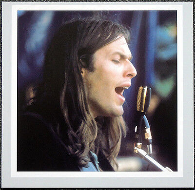 PINK FLOYD POSTER PAGE DAVID GILMOUR . H20