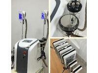 Professional Cryolipolysis Fat Freezing Slimming Machine 2 Cryo Handles 5 YRS Warranty