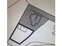 Plot of land for sale, 475m2, serviced, located in a quiet area of newstevenston/motherwell