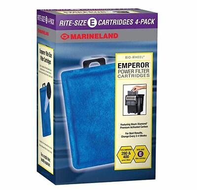 Filter Cartridge Marineland Rite-Size E Refills Tank For Emperor 280 400 Filters