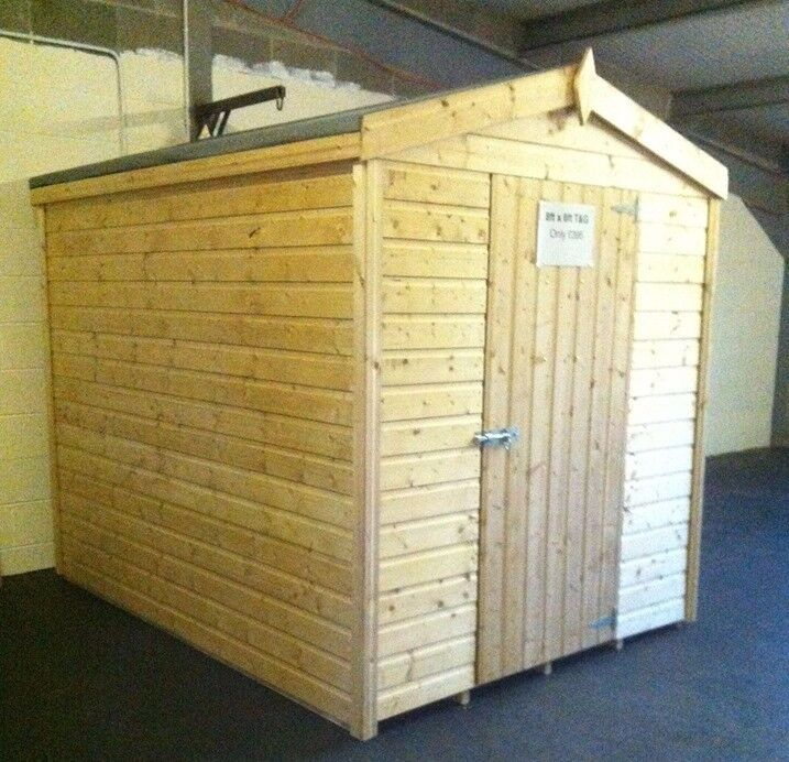 black friday offer 6ft x 6ft tg garden shed - Garden Sheds Ni