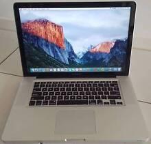 Apple MacBook Pro 15 inch - Quad Core i7 - 8GB Ram - 750GB Hard Salisbury Salisbury Area Preview