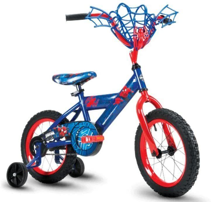 NEW- Huffy Boys Spider-Man Cruiser Bike 14 inch Single Speed