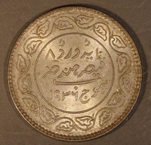 1936//VS1993 India-Princely States Kutch 5 Kori Toned ** Free U.S. Shipping**