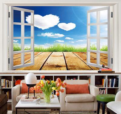 3D Himmels Liebe Promenade 8783 Tapete Wandgemälde Tapeten Bild Familie DE Jenny
