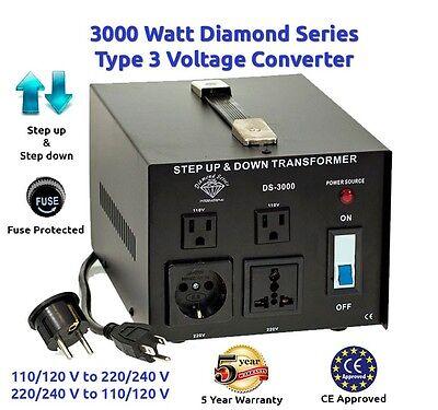 как выглядит Преобразователь напряжения для аккумулятора Diamond Series 3000 Watt Step Up Down Voltage Converter Transformer фото