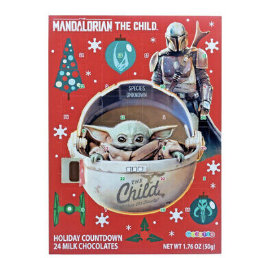 Baby Yoda Chocolate Advent Calendar Star Wars Mandalorian The Child Countdown