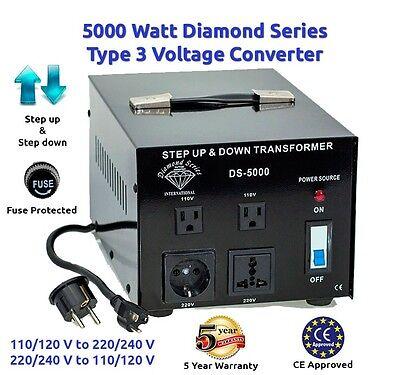 Diamond Series 5000 Watts Step Up & Step Down Voltage Con...