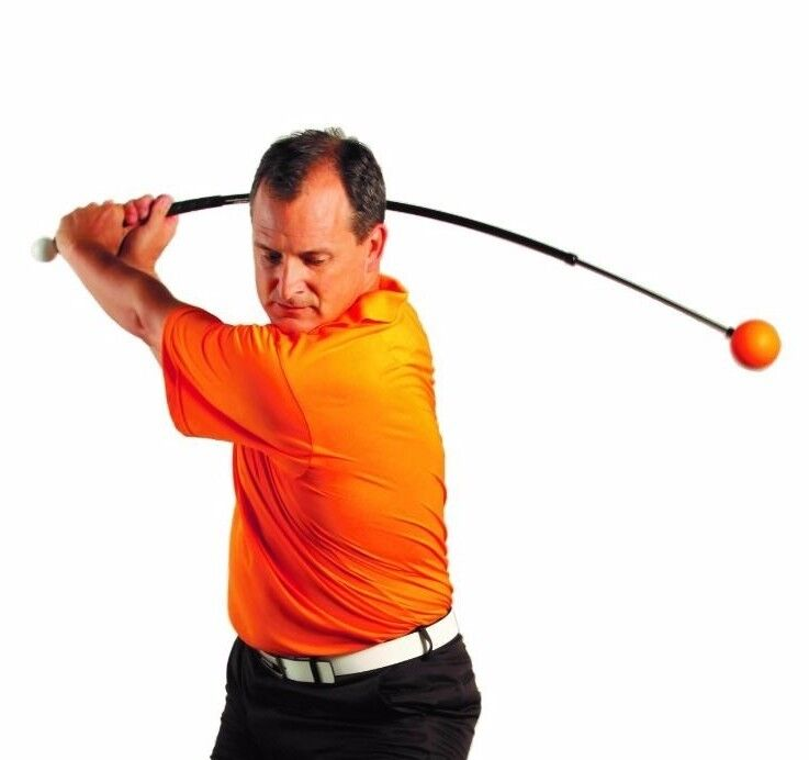 "Orange Whip Golf Swing Trainer 47"" - From Official Manufacturer"