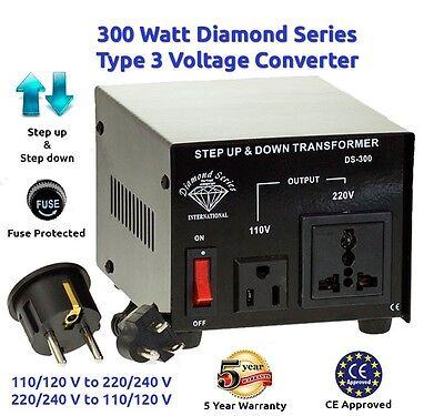 как выглядит Преобразователь напряжения для аккумулятора Diamond Series 300 watts Step Up/Down voltage converter transformer фото
