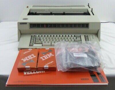 Ibm Wheelwriter 10 Series Ii Electronic Typewriter 6783 Works Great Bundled