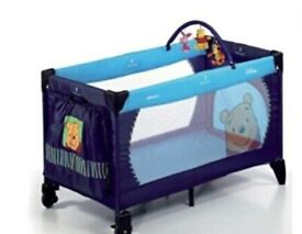 Winnie the pooh travelcot! From birth to 15kg