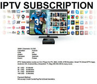 IPTV Subscription Works with and without BOX