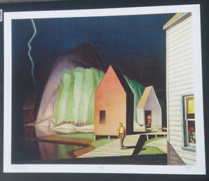 A.J.. Casson  ( Signed by artist ) Ltd print  - Prelude
