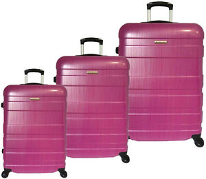 3 Piece Polycarbonate Luggage set