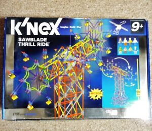 K'NEX Imagine, Build, Play Motorized Sawblade Thrill Ride