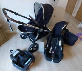 Mamas & Papas Ocarro travel system Navy Blue
