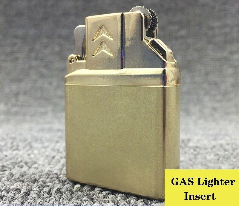 dual flame lighter soft flame & torch, kerosene gas lighter insert