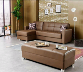 Huge sale on a new brand corner sofa bed Available for sale