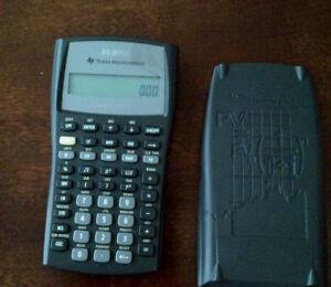 Texas Instrument Financial Calculator - BA II PLUS