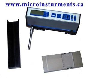 Surface Roughness Profilometer www.microinstruments.ca Surface Profile Gauge Professional Calibrated Instruments