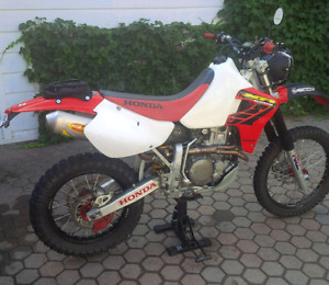 XR 650R supermoto xr blue plated