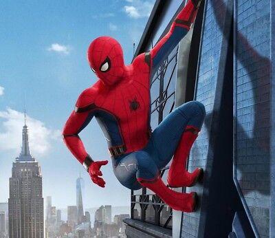 Kinder Spiderman Maske (Kinder Spiderman Cosplay Outfit Superheld Kostüm Mit Maske Halloween Abendkleid)