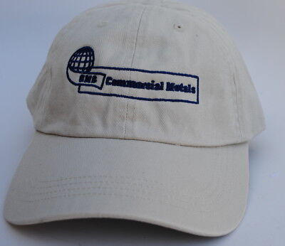 Nwt Gmc Commercial Metals One Size Curved Brim Strapback Baseball Cap Hat