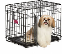 """Midwest double door dog crate NEW IN BOX 24"""" and 30"""""""