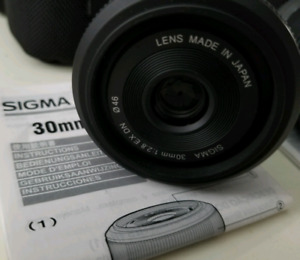 Sigma 30mm F2.8 for sony e-mount