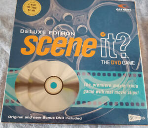 SCENE IT DELUXE EDITION GAME