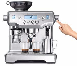 Breville BES980XL Oracle Espresso Machine, Silver Neuve