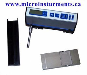 Surface Roughness Profilometer www.microinstruments.ca