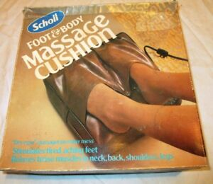 "Vintage massage cushion ( ""almost"" BNIB )"