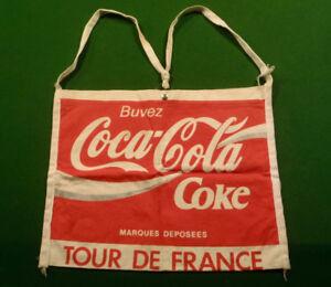 Vintage French Tour de France bicycle race Coke Musette Bag