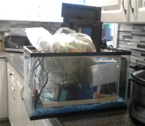 FOR SALE: 2 fish tanks and accessories