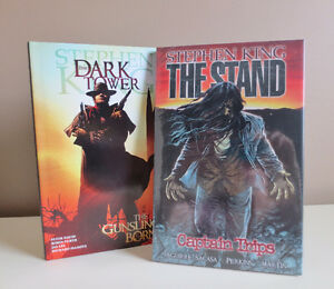 "Stephen King Graphic Novels ""The Stand"" and ""The Dark Tower"""