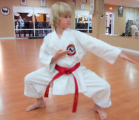 Youth Karate Classes! 1st Class FREE! Register NOW 4 September!
