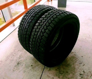 Set of two 195/50/16 winter tires