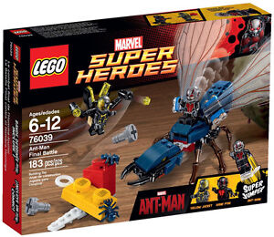 LEGO Marvel Super Heroes	MARVEL CINEMATIC: Ant-Man Final Battle