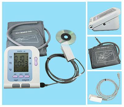 Contec Digital Blood Pressure Monitor Contec08cadult Cuffsoftwareadult Spo2