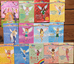 Collection of RAINBOW MAGIC fairy chapter books 13 for $15