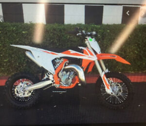 KTM 65 Brand new used 4x in our back alley